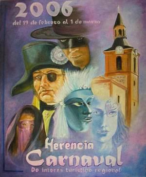 carnaval de herencia 2006 - Concurso para el cartel anunciador del Carnaval de Herencia 2007
