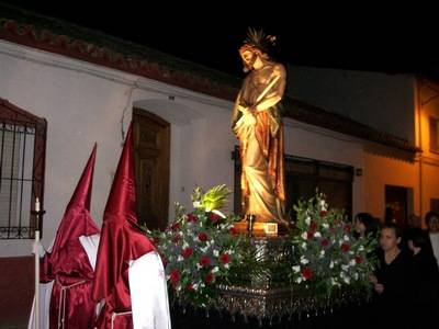 Cristo del Consuelo en procesion