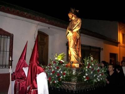 Cristo%20del%20Consuelo%20en%20procesion - Semana Santa en Herencia