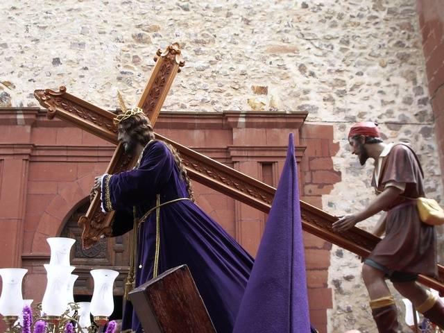 Jesus%20Nazareno - Los Moraos retransmitirán por Facebook y YouTube la procesión del Viernes Santo con vídeos de su cofradía