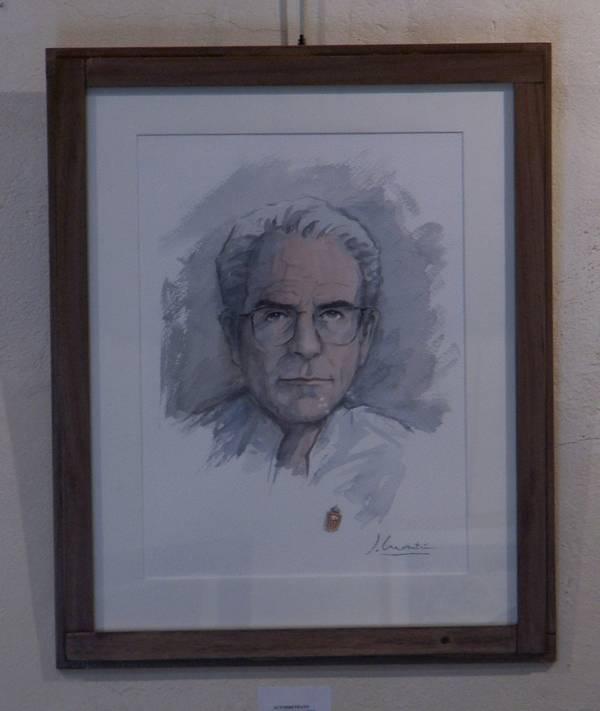 Autorretrato - El Acuarelista Martín Casado. Trayectoria vital de un herenciano universal.