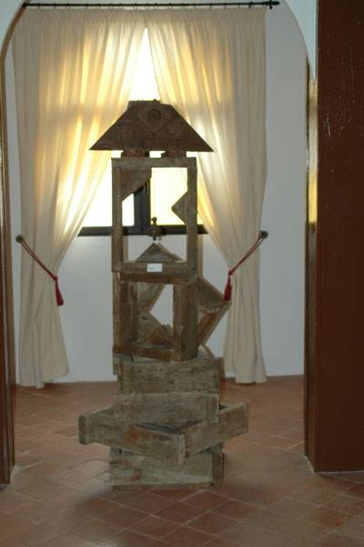 Escultura de Jesús Madero. Casa-Museo de La Merced. Herencia