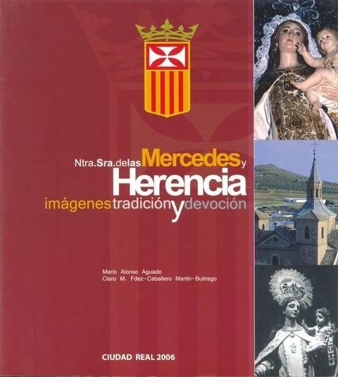 """portada libro - Presentación del libro """"Ntra. Sra. de las Mercedes y Herencia. Imágenes, Tradición y devoción"""""""