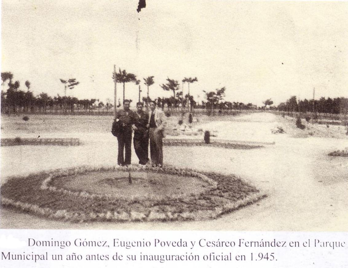 Parque Municipal. 1945