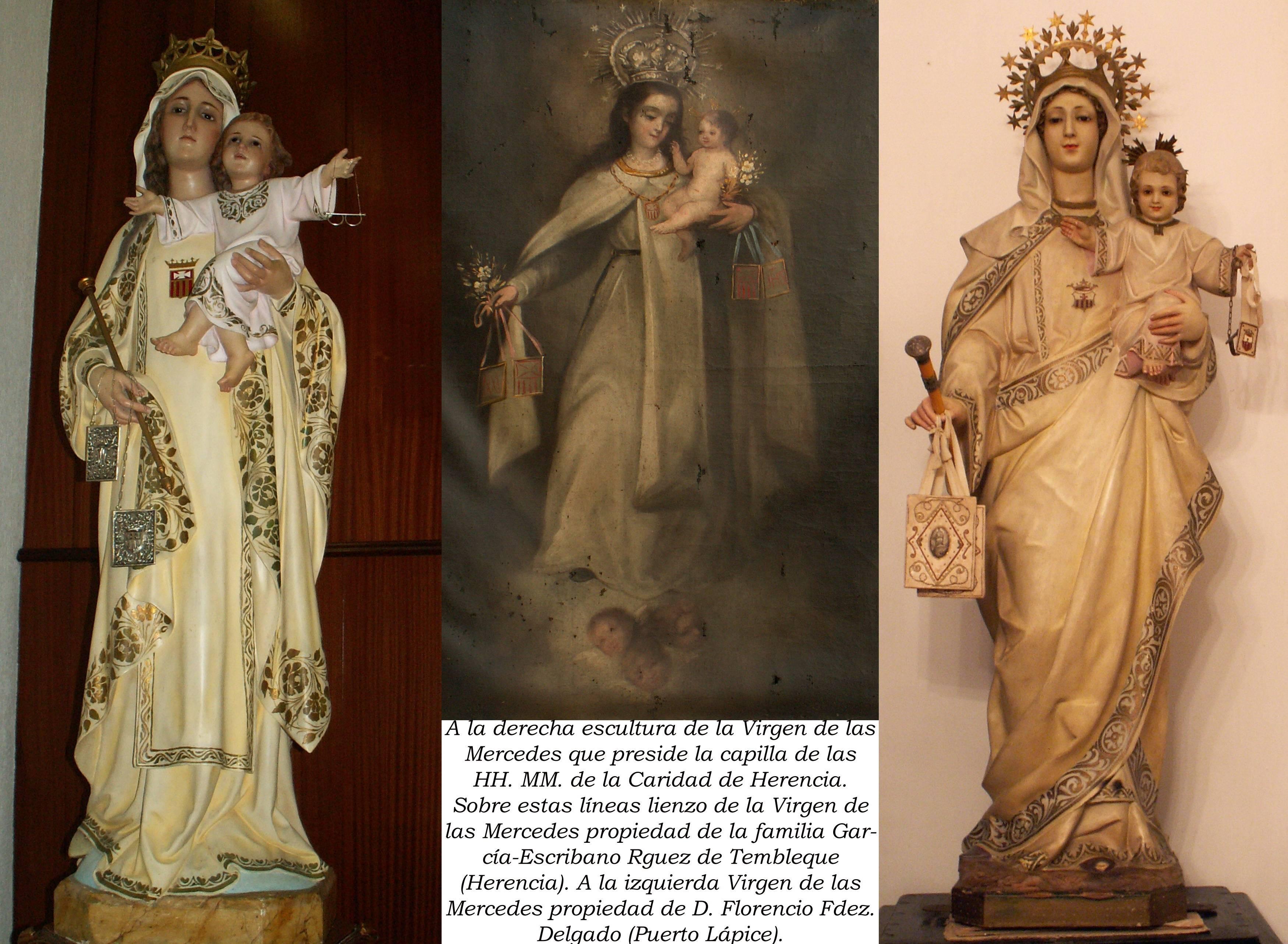 Imágenes de la Virgen de las Mercedes