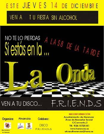Cartel Fiesta sin Alcohol