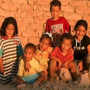 ninos saharahuis - Mercadillo y Milla Solidaria. Proyecto los Niños al Servicio de la Educación