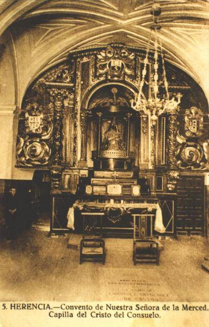 cantigua capilla del cristo del consuelo - Las imágenes pasionales de Cristo en la iglesia conventual de La Merced