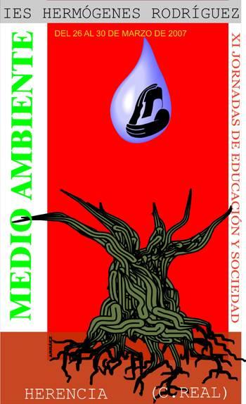 """cartel xi jornadas de educacion y sociedad - XI Jornadas de Educación y Sociedad. """"Medio Ambiente"""""""