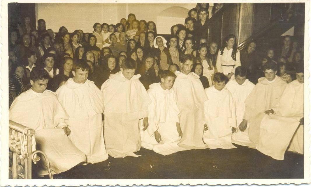 novicios 4 - El Antiguo Noviciado de la Merced de Herencia (1956-1964)
