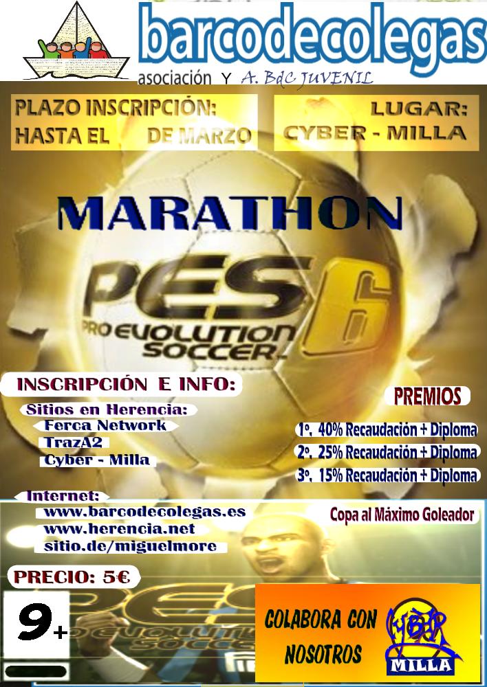 pes6 box03 - I Marathon PES 6 Barco de Colegas