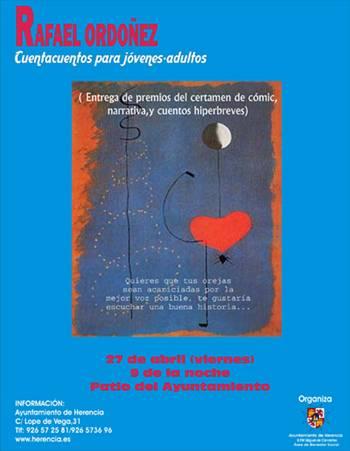 Cartel Cuentacuentos Rafael Ordoñez