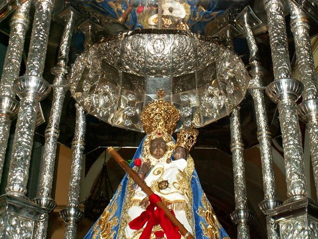 Imagen de la Viregen de la Cabeza de Herencia