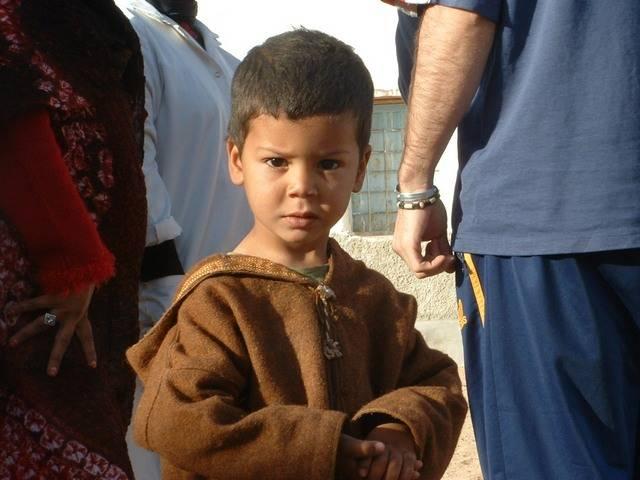 nino saharaui - Vacaciones en Paz 2007