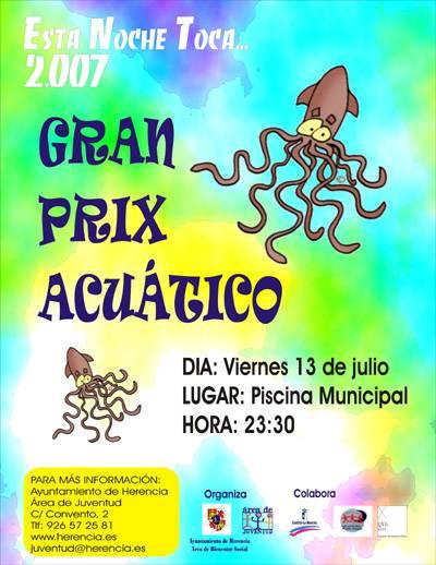 Cartel Gran Prix Acuático Herencia 2007