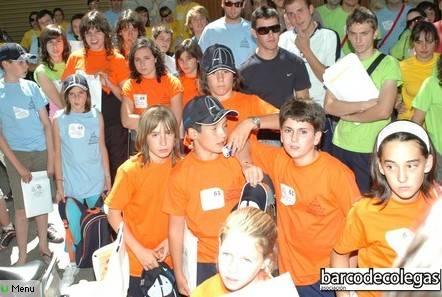 Agunos de los participantes en la Ii Gymkhana BdC