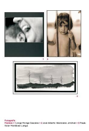 Premiados Fotografía Jovenes Artistas CLM 2006