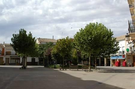 plaza en herencia - El Parking peatonal no es accesible para todos