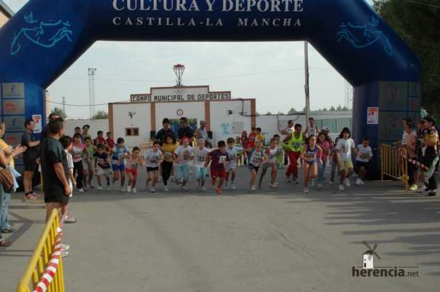 "XXXI carrera popular de herencia ciudad real 2007 foto 13 632x420 - Gran participación en la XXXI Carrera Popular ""Villa de Herencia"""