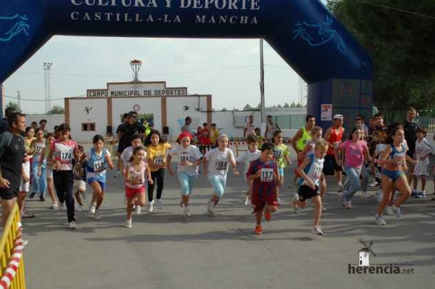 "XXXI carrera popular de herencia ciudad real 2007 foto 15 632x420 - Gran participación en la XXXI Carrera Popular ""Villa de Herencia"""
