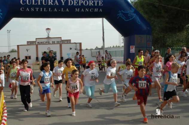 "XXXI carrera popular de herencia ciudad real 2007 foto 16 632x420 - Gran participación en la XXXI Carrera Popular ""Villa de Herencia"""