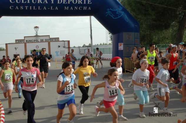 "XXXI carrera popular de herencia ciudad real 2007 foto 17 632x420 - Gran participación en la XXXI Carrera Popular ""Villa de Herencia"""