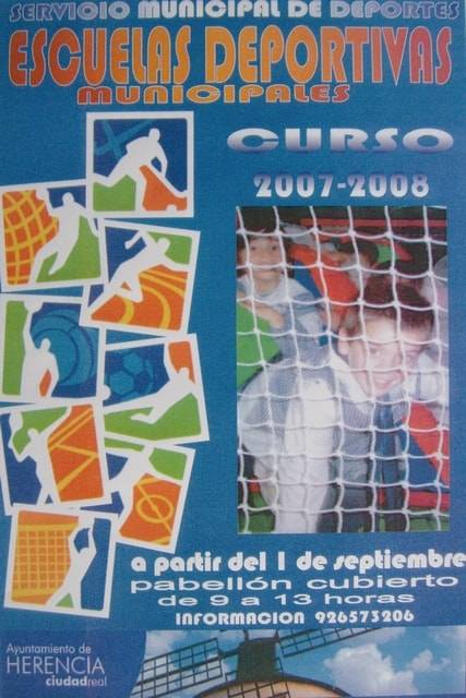 Cartel Escuelas Deportivas 2006-07