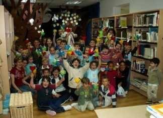 La biblioteca de Herencia durante una jornada de animación a la lectura