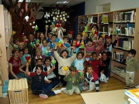 """La biblioteca de Herencia durante una jornada de animacion a la lectura - Biblioteca Pública Municipal """"Miguel de Cervantes"""""""