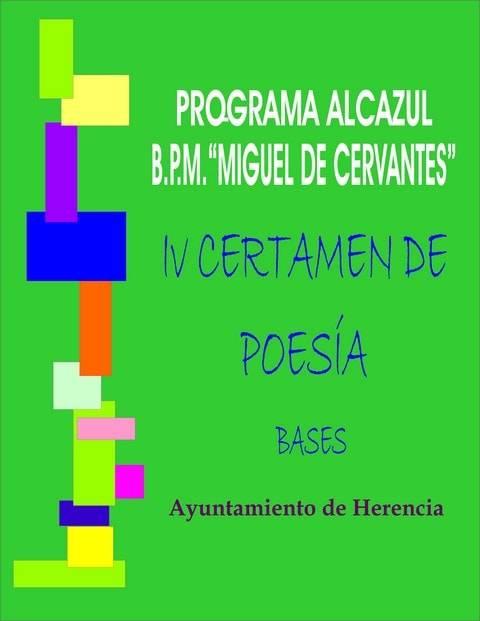 IV Certamen de Poesía Alcazul Herencia