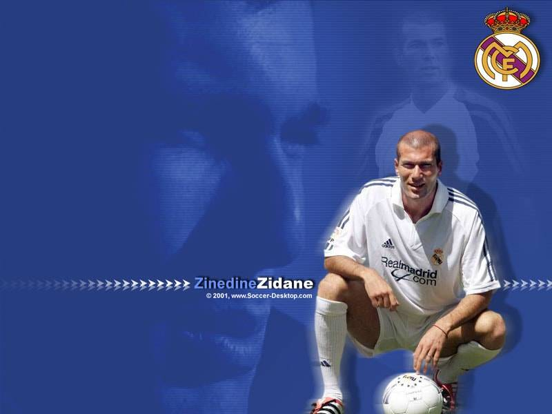 Zinedine Zidane imagen extraida de la web publispain.com