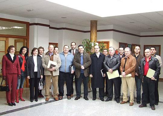 asamblea enero promancha - El Acalde de Herencia, preside la Mesa Sectorial de Promancha sobre Medio Ambiente, Turismo y Mejora del Entorno