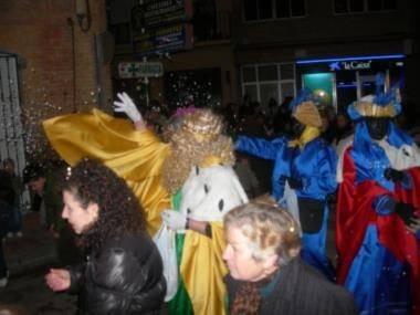 caminata de reyes - Cabalgata de Reyes 2008