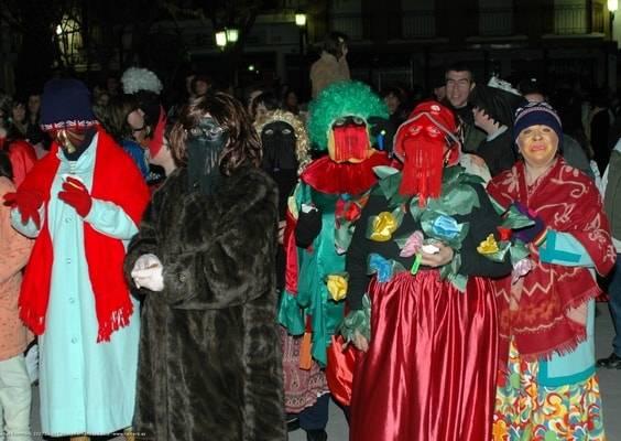 """sabado de los ansiosos 2007 foto1 - """"II Sábado de los Ansiosos"""" en el Carnaval de Herencia 2008"""