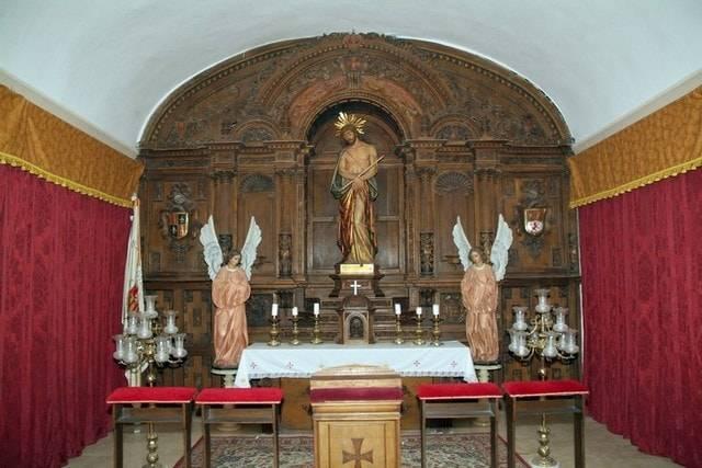 Capilla Actual del Cristo del Consuelo