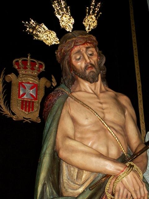 cristo consuelo - Las imágenes pasionales de Cristo en la iglesia conventual de La Merced