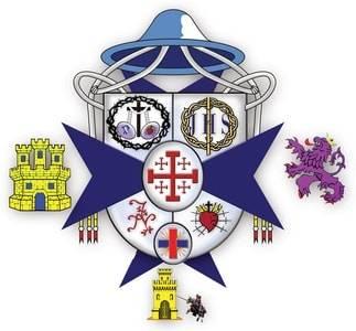 escudo juntadehermandades2 - Heráldica de Pasión. Estudio del escudo de la Junta Permanente de Semana Santa