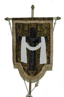 estandarte antiguo santo entierror 222x333 - Imágenes del Santo Entierro