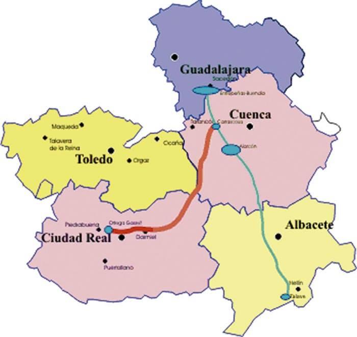trasvase agua interno castilla lamancha - Aprobada la ETAP en la red de la Tubería Manchega