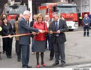 inaguracion parque bomberos alcazar 300x231 - Un nuevo Parque de Bomberos para la comarca