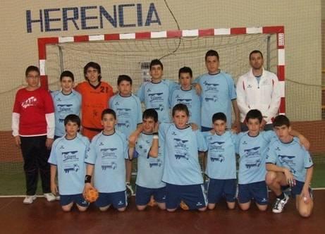 smd balonmano infantil herencia - El Balonmano Herencia Infantil se clasifica para el campeonato de España