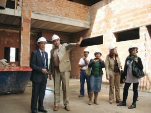 Escuela de Danza y Música en construcción
