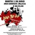 majara sala caracol 150x150 - Majara actuará en la Sala Caracol de Madrid
