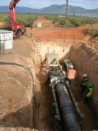 tuberiamanchega1 - La Confederación del Guadiana dice que el Tajo-La Mancha sólo será para abastecimiento y Las Tablas