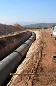 tuberiamanchega2 194x300 - La Confederación del Guadiana dice que el Tajo-La Mancha sólo será para abastecimiento y Las Tablas