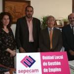herencia oficina del sepecam 150x150 - Los desempleados podrán sellar sus tarjetas en Herencia