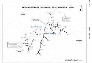 nomemclatura de los ramales de distribucion tuberia manchega 300x207 - La CHG saca a información pública los ramales de la Tubería Manchega