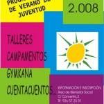 Anticipo de Actividades de Juventud. Verano 2008 3