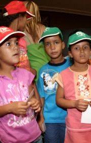 niños y niñas saharauis