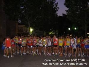 1c2ba carrera popular nocturna 1 300x224 - Éxito de la 1ª carrera popular nocturna de Herencia